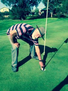 Chris Leaman scores a hole in one on the 12th