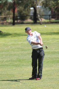 Steve Chisholm on his way to winning the recent C grade event at Strathbogie