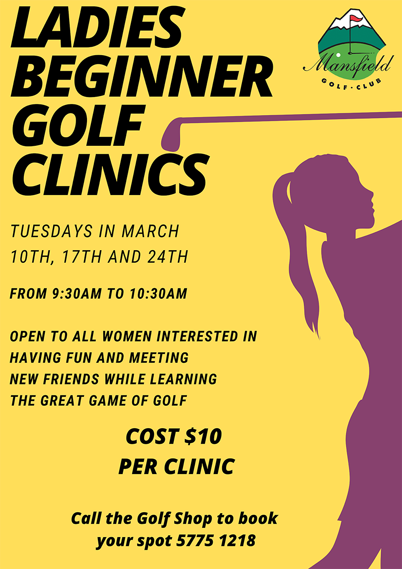 Ladies Beginners Clinic